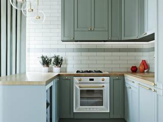 Дуплекс 185 кв.м. Кухня в классическом стиле от Margarita Zenova Классический