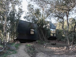 MACIZO, ARQUITECTURA EN MADERA Country house Wood Wood effect