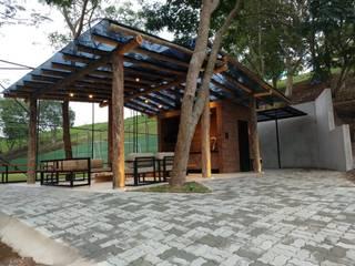 Vườn theo Jacqueline Fumagalli Arquitetura & Design, Đồng quê