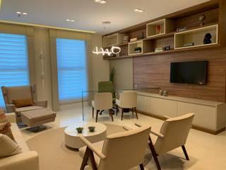 Phòng học/Văn phòng theo Jacqueline Fumagalli Arquitetura & Design, Kinh điển