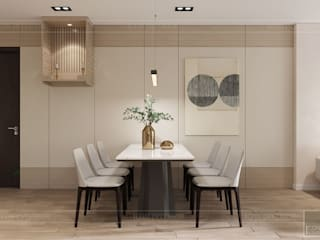Minimalist dining room by ICON INTERIOR Minimalist