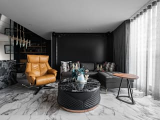 Ruang Keluarga Modern Oleh 你你空間設計 Modern