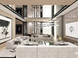Modern Oturma Odası ARTDESIGN architektura wnętrz Modern