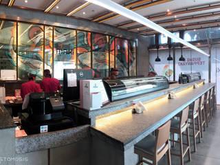 بار السوشي Sushi Bar من Anastomosis Design Lab أسيوي