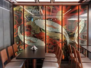 جلسات الطعام Dinning Area من Anastomosis Design Lab أسيوي