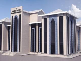 Erzurum İl Halk Kütüphanesi Klasik Evler AVAN ART MİMARLIK Klasik