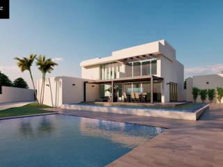 La finca de la consentida Casas modernas de Estévez Arquitectos Moderno