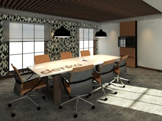 Penthouse and Boardroom : modern  by Rayshon PTY LTD, Modern