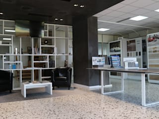 Modern offices & stores by Foly export ceramiche Modern