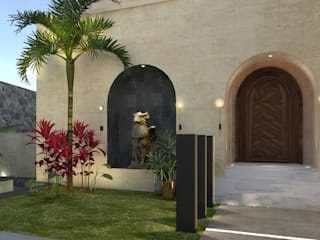 Landscape design |Terencia, Uptown Cairo:  Front yard by Saif Mourad Creations, Modern