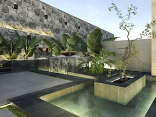 Landscape design |Terencia, Uptown Cairo:  Garden Pond by Saif Mourad Creations, Modern