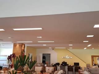 Projeto Iluminação PD Reforme&Decore Espaços comerciais modernos