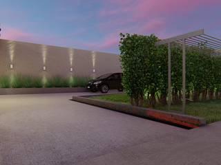 Reforma Res. Jardim Quebec Hexo Engenharia e Arquitetura Garagens e edículas clássicas