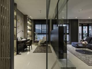 Bureau de style  par 雅群空間設計, Moderne
