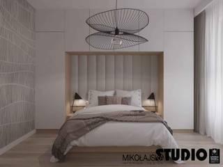 MIKOŁAJSKAstudio Modern Bedroom