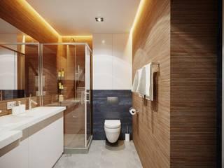 Дизайн интерьера квартиры для семьи из 4 человек Ванная комната в стиле минимализм от Stanislav Zhizhka Минимализм