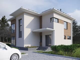 Типовой жилой дом от Stanislav Zhizhka Скандинавский