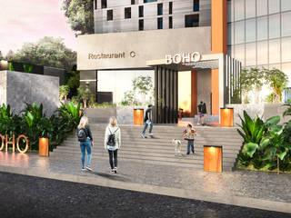 Espaces commerciaux modernes par Saif Mourad Creations Moderne