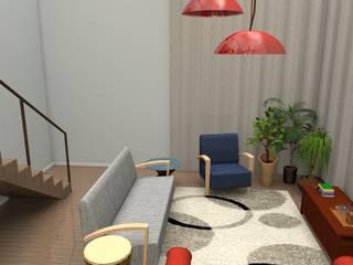LOFT Giovana Fagnani Salas de estar modernas