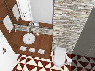 LOFT Giovana Fagnani Banheiros modernos