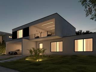 Condominios de estilo  por Lucas Agra - Arquitetura e Urbanismo, Moderno