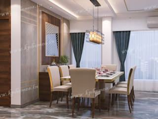 Royal Living and Dining Room Concepts:  Dining room by Kphomes,Classic