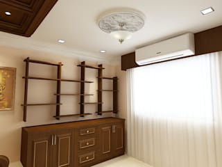 Pooja Room Concept Classic style living room by Kphomes Classic