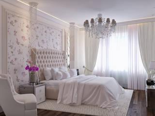 Квартира на Аксаковской Спальня в классическом стиле от Chloe Home Классический