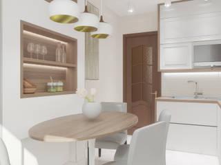 Квартира на Невской Гостиная в классическом стиле от Chloe Home Классический