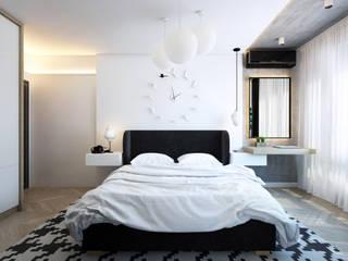 Black&White от Дизайн студия интерьера 'Conception' Лофт