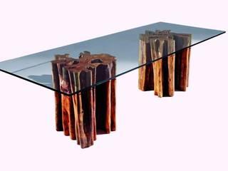 Mesas:   por Woodpieces. Livingdesign,Eclético