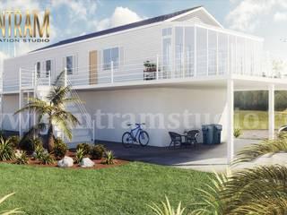 Chalets de estilo  por Yantram Architectural Design Studio, Moderno