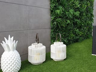 Garden by MEA Interior Design, Tropical