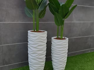 Jardines de estilo tropical de MEA Interior Design Tropical