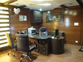 Best Interior Designer in Delhi:  Offices & stores by SKF Decor,Classic