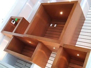 emARTquitectura Arte y Diseño Office spaces & stores Kayu Brown