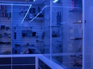 Iluminación Oficinas Punto de Imagen Estudios y despachos modernos de emARTquitectura Arte y Diseño Moderno