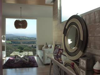 Penthouse AVE Salones mediterráneos de emARTquitectura Arte y Diseño Mediterráneo
