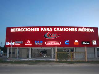 Refacciones para Camiones Mérida ICONO PUBLICIDAD