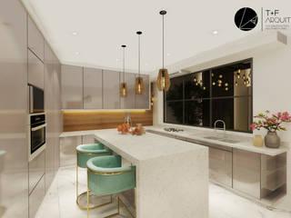Nhà bếp theo T+F Arquitectos, Hiện đại