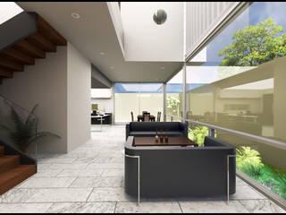 Las Plazas Casas modernas de Geometrica Arquitectura Moderno