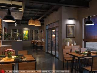 Thiết kế nội thất Nhà hàng Đồng Xanh - Hải Dương Thiết Kế Nội Thất - ARTBOX