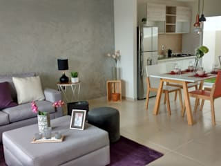 Interiorismo casa Yarey Salones modernos de TRASSO ATELIER Moderno