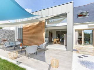 INTERIEUR / EXTERIEUR a2 ARCHITECTURE Maison individuelle