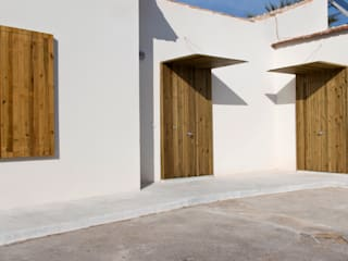 Laura Ortín Arquitectura Detached home Wood Wood effect