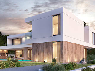 Traçado Regulador. Lda Villas Wood White
