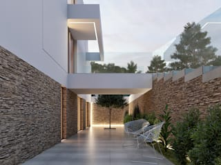 Traçado Regulador. Lda Villas Stone White