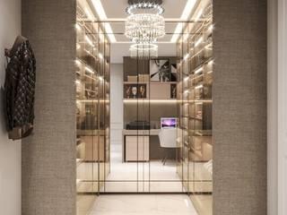 Vestidores modernos de Camila Pimenta | Arquitetura + Interiores Moderno