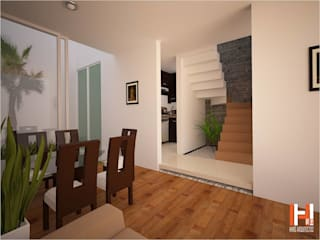Stairs by HHRG ARQUITECTOS, Minimalist