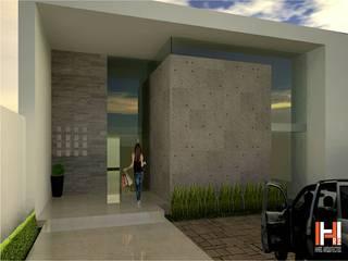 HHRG ARQUITECTOS Minimalist houses